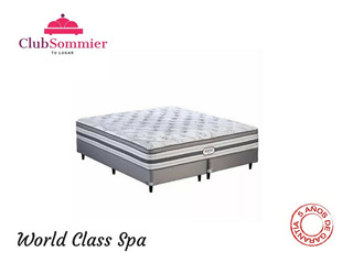 Sommier Simmons World Class Spa Resortes 200x200