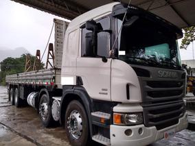 Scania P 310 B 8x2 Ano 2013 Automático Com Carroceria