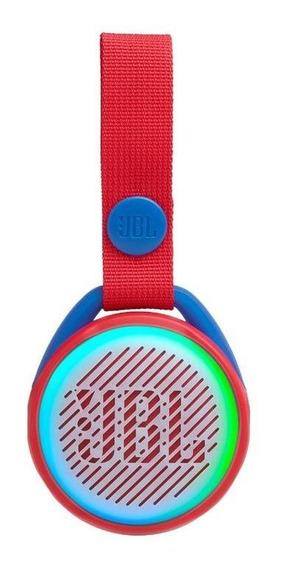 Caixa De Som Jbl Junior Pop, Bluetooth, Vermelho