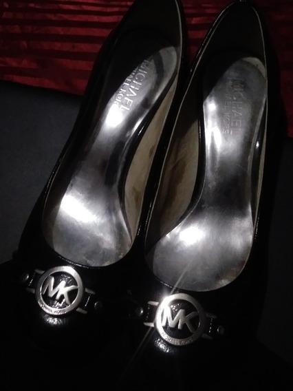 Zapatos Dama Michael Kors Mk Charol Negro Original