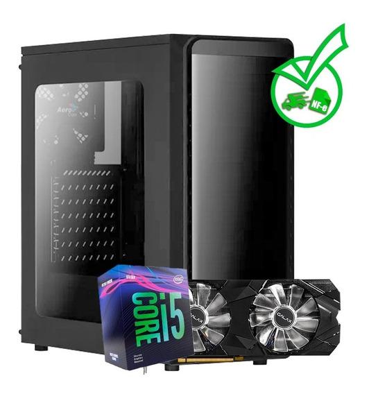 Computador Gamer Core I5 9400f + Rtx 2070 8gb + Ssd + Hd +nf