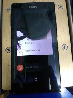 Sony Xperia Z Funcionando Para Tirar Peças