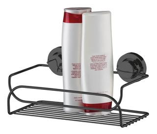 Suporte Multiuso Shampoo C/ Ventosa Preto Onix 4050ox Future