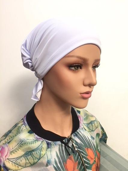 Lenço Quimioterapia Malha Cores Div Oncologia Touca Alopecia
