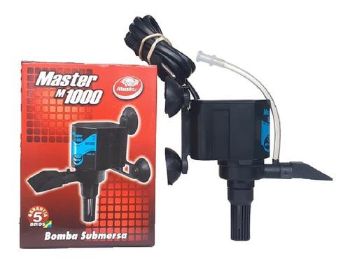 Bomba Motor Fonte 1000 L/h Eleva 1,10m Cascata Submersa 127v 220v