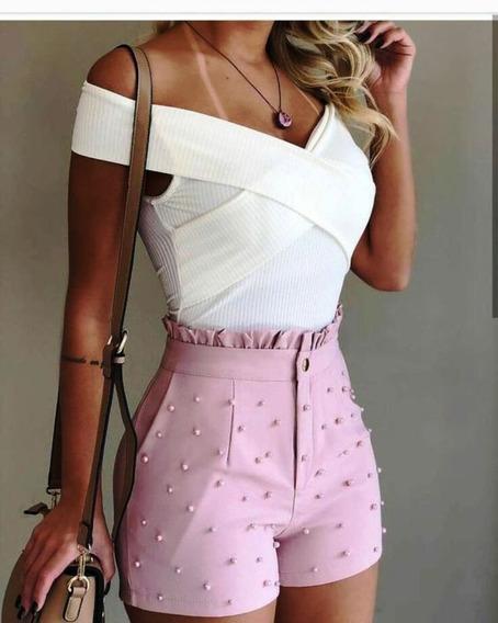 Pantalon Corto De Dama O Short Modernos