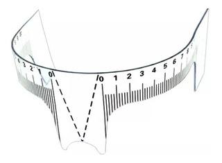 Regla Calibre Microblading Vincha Simetria De Cejas