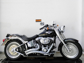 Harley Davidson Softail Fat Boy Flstf 2012 Preta