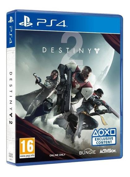 Game Destiny 2 - Ps4 - Mídia Física