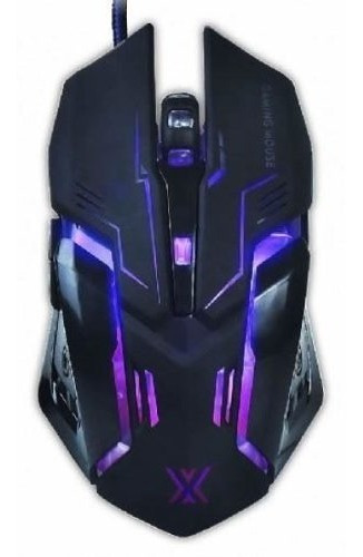Mouse Gamer 6d X Soldado Iluminação Led Rgb Cs Dota Pubg Lol