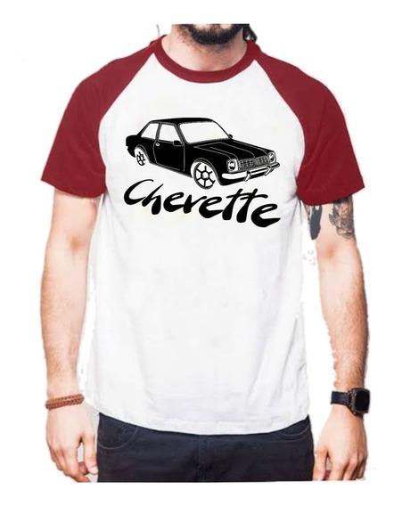 Camiseta Camisa Masculina Carro Chevette Chevetteiros Barato