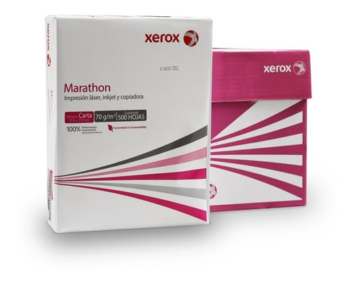 Imagen 1 de 4 de Paquete De Hoja Bond Carta Marathon 500 Hojas 1 Resma