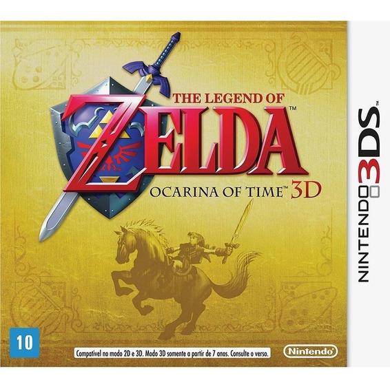 Jogo The Legend Of Zelda Ocarina Of Time 3ds Físico