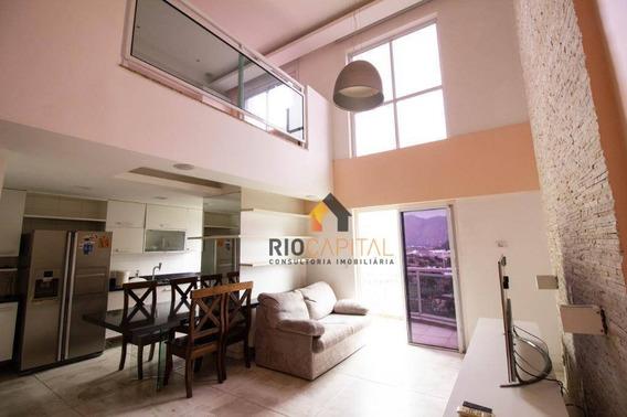 Loft Com 1 Quarto À Venda, 71 M² Por R$ 550.000 - Barra Da Tijuca - Rio De Janeiro/rj - Lf0005
