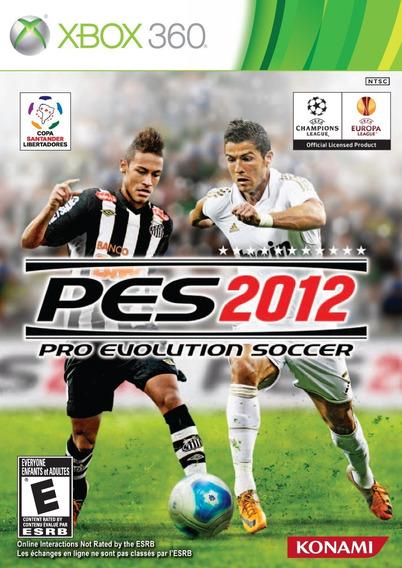 Jogo Pro Evolution Soccer 2012 Pes 12 Xbox 360 Mídia Física