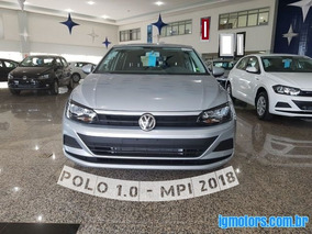 Vw - Volkswagen Polo 1.0 Mpi Flex 2018 - $49.500,00
