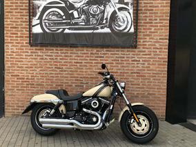 Harley Davidson Fat Bob 2015 Apenas 1600km