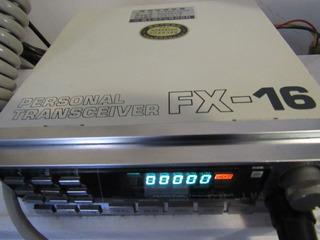 Rádio Transmissor Fx16 Fabricado No Japão - Oferta