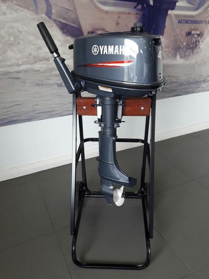 Motor De Popa Yamaha 4hp 2 Tempos. 0km