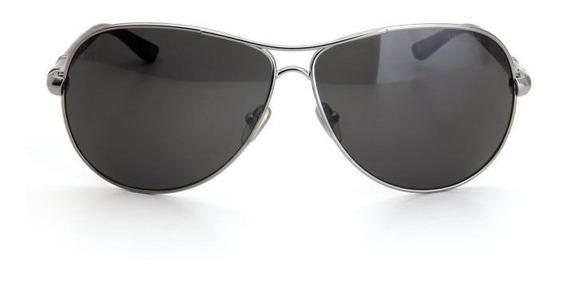 Oculos De Sol Vogue Metal Aviador Proteção Uv Prata
