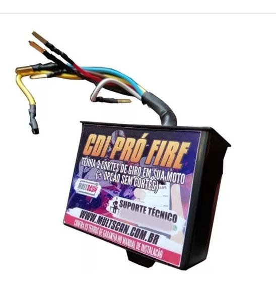 Cdi Universal Pró Fire Para Motos Multscan