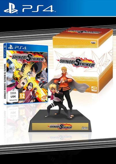 Naruto To Boruto Shinobi Striker Collectors Edition Ps4 Novo