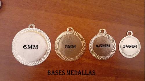 Medallas Bases Y Troqueladas