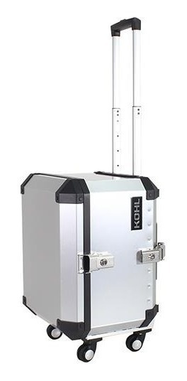 Baúl Trasero Kohl Trolley Case 58 Lts Aluminio Mh&s