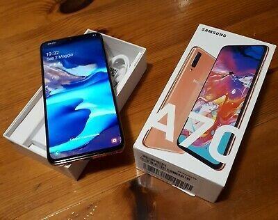 Imagen 1 de 2 de Samsung Galaxy A70 128gb Dual Sim Metálico Naranja Puro Lujo