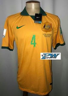 Camisa Australia Copa Do Mundo Do Brasil 2014 #4 Cahill