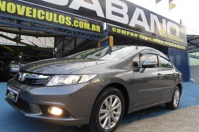 Honda Civic 2.0 Lxr 16v Flex 4p Automatico 2013/2014