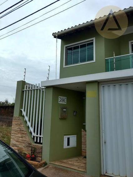 Casa Com 3 Dormitórios À Venda, 150 M² Por R$ 450.000,00 - Riviera Fluminense - Macaé/rj - Ca0599
