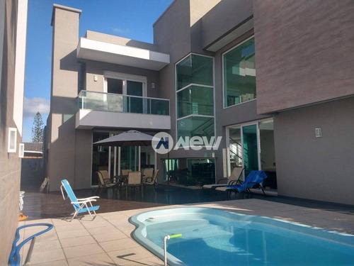 Imagem 1 de 30 de Casa Com 5 Dormitórios À Venda, 400 M² Por R$ 2.200.000,00 - Atlântida - Xangri-lá/rs - Ca3256