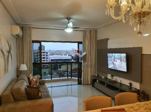 Imagem 1 de 18 de À Venda Por R$ 472.000 - Apartamento Com 3 Dormitórios , 117 M² Centro - Ribeirão Preto/sp - Ap3557