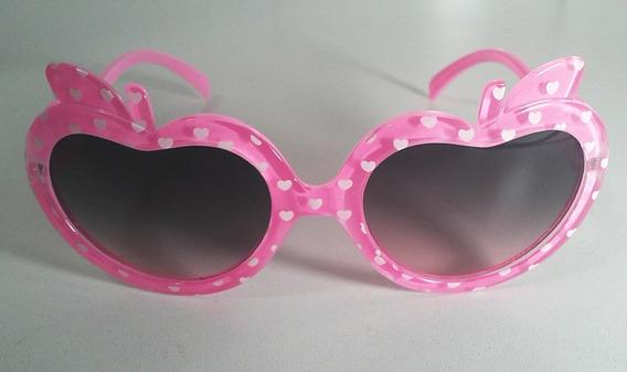 Óculos De Sol Infantil Proteção Uv400 - Maças E Corações