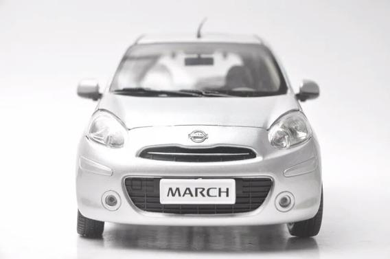 Miniatura Nissan March Exclusivo 1:18 Colecionável