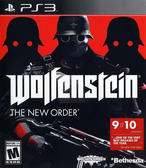 Jogo Wolfenstein The New Order Ps3 Mídia Física Original