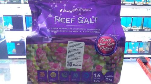 Imagem 1 de 1 de Aquaforest Reef Salt 2kg