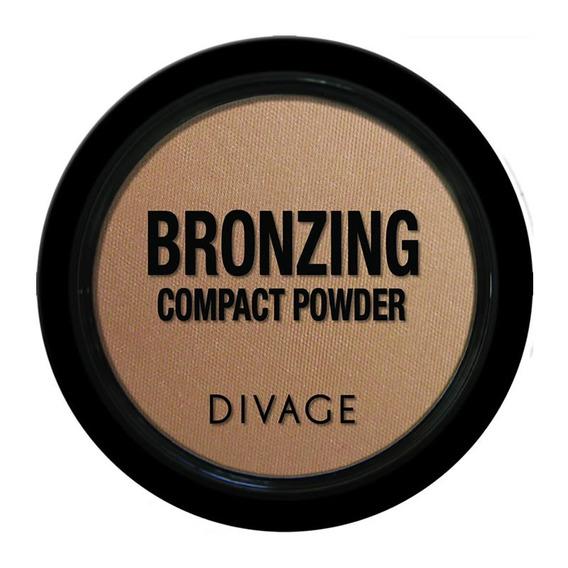 Blush Iluminador Bronzer Natural Polvos Colores Tonos Dorados Divage Fashion Compacto Bronceador Para Mujeres / Damas