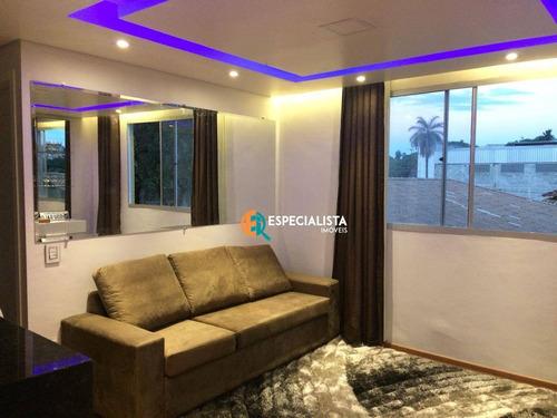 2 Quartos, R$ 170.000 - Granja Santa Inês (são Benedito) - Santa Luzia/mg - Ap0265