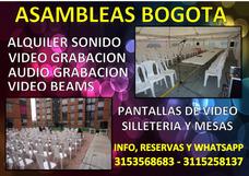 Asambleas Bogota, Logística Para Asambleas