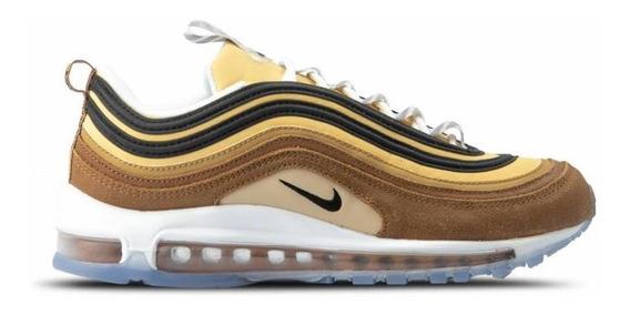 Zapatillas Nike Air Max 97 Brown Elemental Gold!! Hombre!!