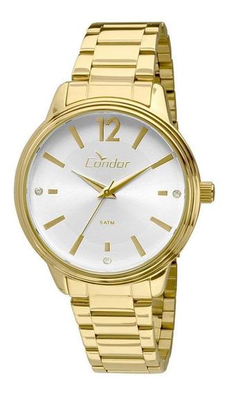Relógio Condor Feminino Dourado Co2035kmh4k