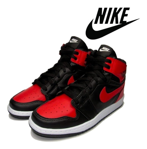 Tênis Bota Cano Alto Air Jordan 1 Chicago Retro!