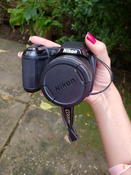 Câmera Nikon Semi-profissional Coolpix L330