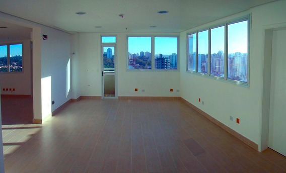 Salas - 3 Banheiros, 3 Vagas, 100,3m2 - 15andar - Prox.metrô