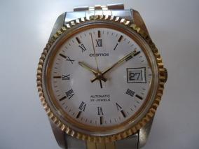 Relógio Automático Cosmos Japan Semi Novo Perfeito