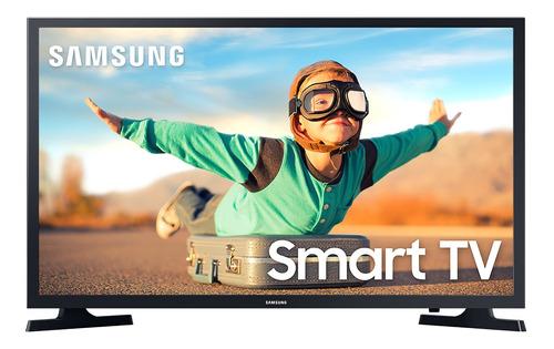 Imagen 1 de 5 de Smart Tv Samsung 32  Series 4 Un32t4300 Led Hd Cuotas S/i