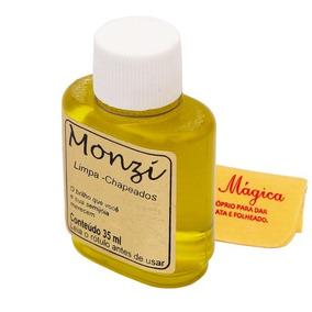 Limpa Chapeado Folhado Monzi Original 35ml