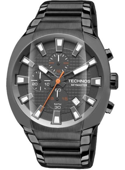 Relógio Technos Masculino Performance Skymaster Js15av/4f De Vitrine